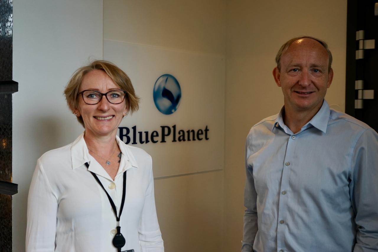 Blue Planet Kirsti Sømme og Eivind Helland